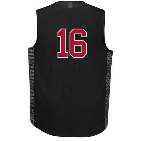 "NC State Wolfpack Adidas #16""Iced Out"" Basketball Jersey"