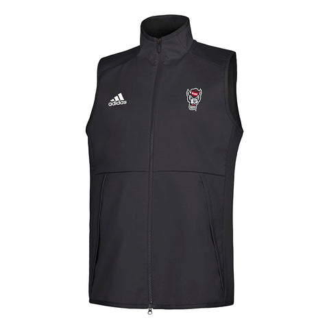 NC State Wolfpack Adidas Black Wolfhead  Game Mode Vest