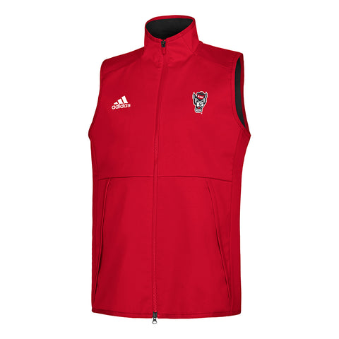 NC State Wolfpack Adidas Red Wolfhead Game Mode Vest
