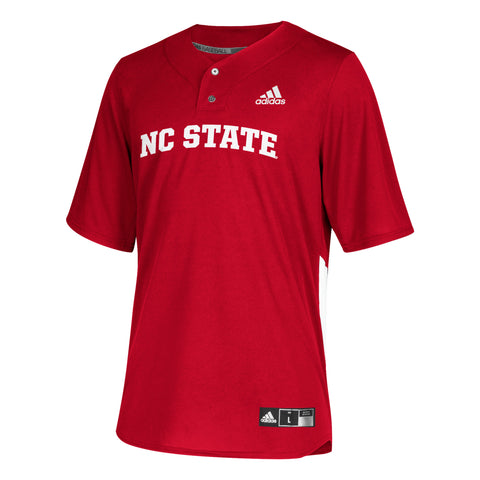 NC State Wolfpack Adidas Youth Red #19 Elite Baseball Jersey