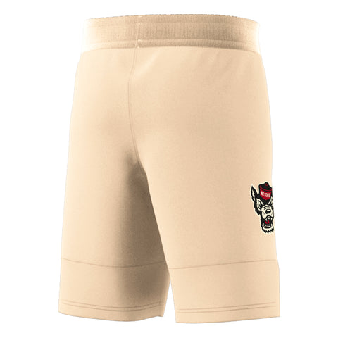 NC State Wolfpack Adidas Cream Celebrating Black Culture Swingman Basketball Shorts