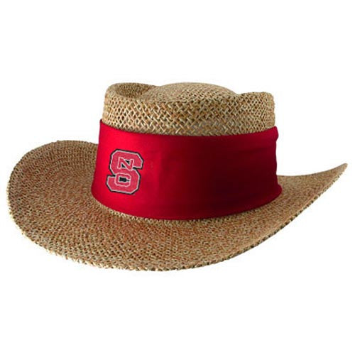 NC State Wolfpack Tournament Straw Hat