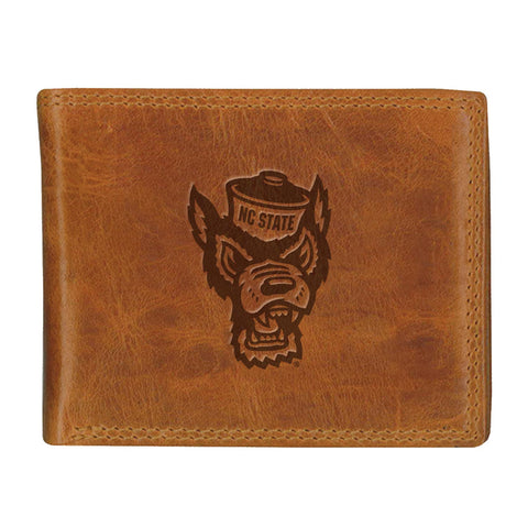 North Carolina State Wolfpack Westbridge Wolfhead Bifold Wallet