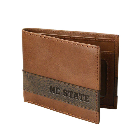 NC State Wolfpack Two-Tone Westbridge Bifold Wallet