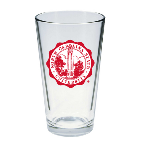 NC State Wolfpack 16oz. Seal Mixing Glass