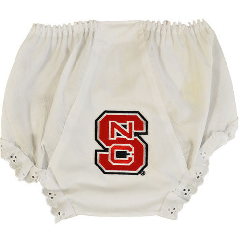 NC State Wolfpack Eyelet Diaper Cover
