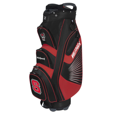 NC State Wolfpack Bucket Cooler Cart Golf  Bag