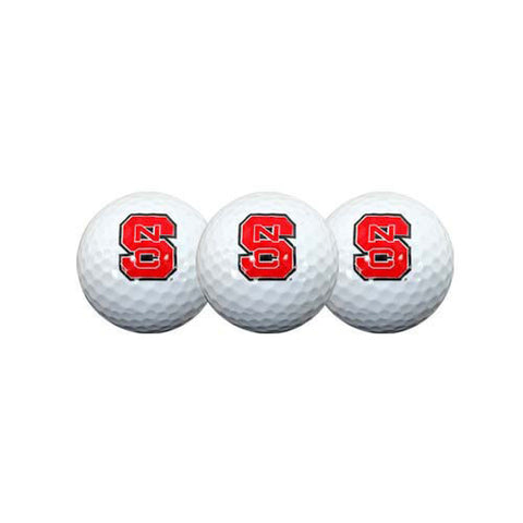 NC State Wolfpack Golf Ball 3-Pack