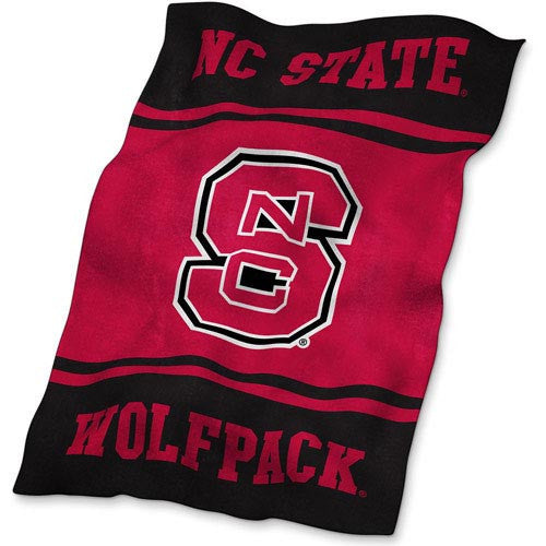 NC State Wolfpack Workmark Ultra Soft Blanket