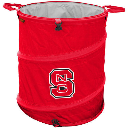 NC State Wolfpack Collapsible Trash Can (Doubles as Cooler and Laundry Hamper)
