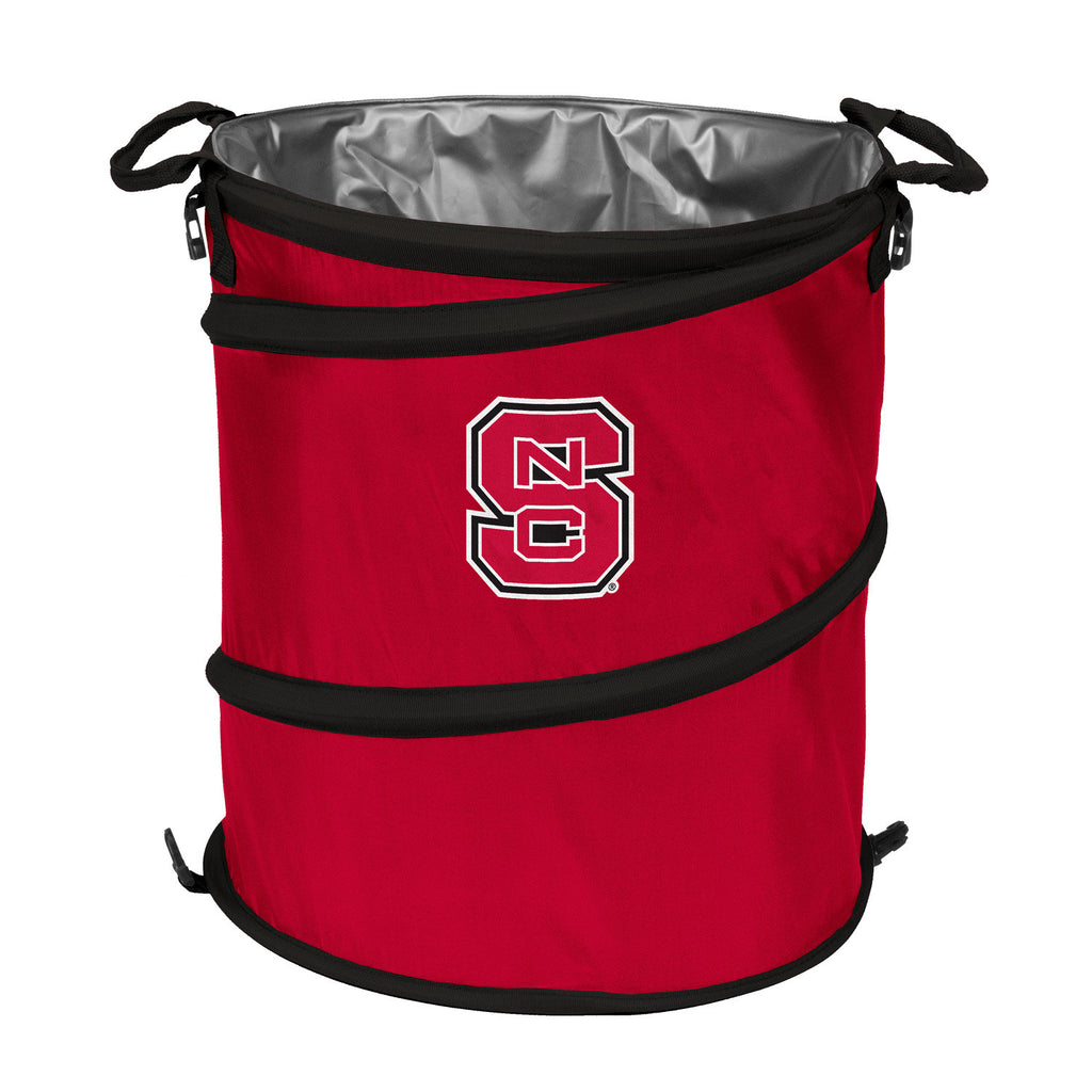 NC State Wolfpack 2-Tone 3-in-1 Collapsible Bin