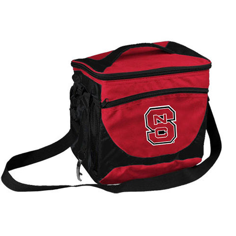 NC State Wolfpack 24 Can Cooler w/ Bottle Opener