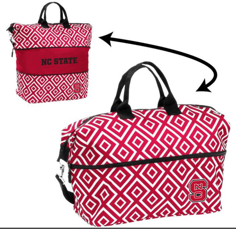 NC State Wolfpack Double Diamond Expandable Tote