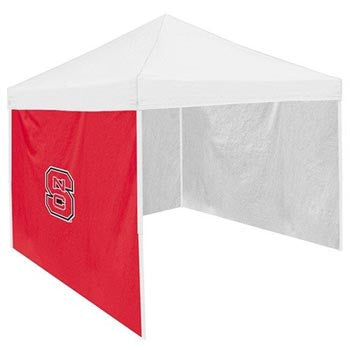 NC State Wolfpack Red Block S Tent Side Panel