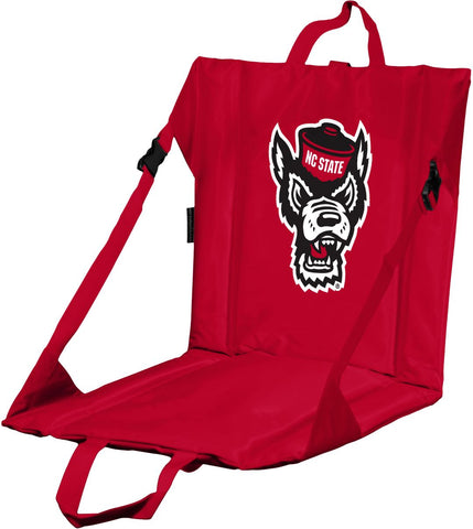 NC State Wolfpack Red Wolfhead Stadium Seat