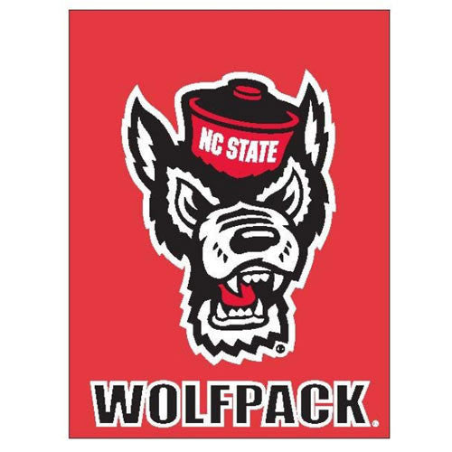 "NC State Wolfpack 30""X40"" Wolf Head Banner"