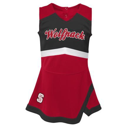 NC State Wolfpack Toddler Captain Cheer Outfit