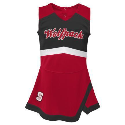 NC State Wolfpack Youth Captain Cheer Outfit