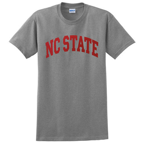 NC State Wolfpack Grey Arch Youth T-Shirt