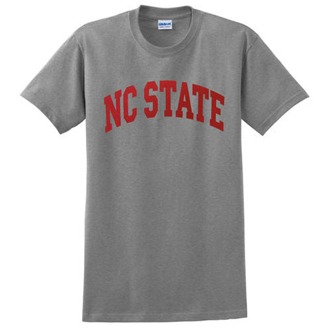 NC State Wolfpack Grey Arch T-Shirt