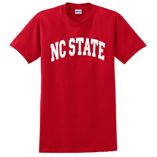 NC State Wolfpack Youth Red Arch T-Shirt