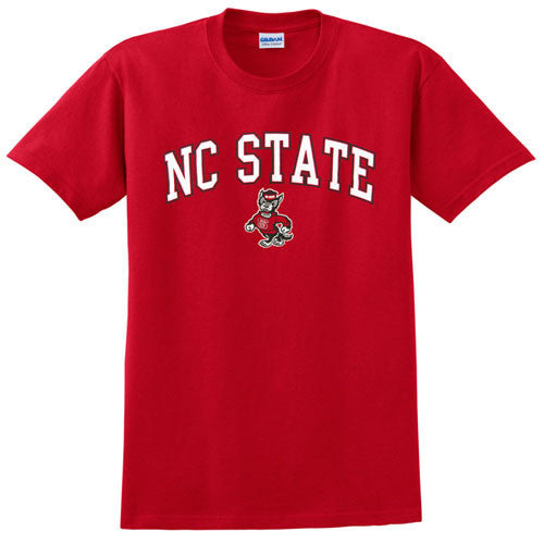NC State Wolfpack Red Signature Strutting Wolf Youth T-Shirt