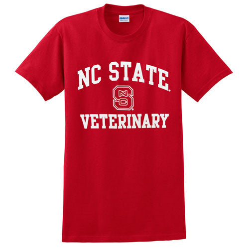 NC State Wolfpack Red Signature Veterinary T-Shirt
