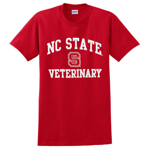 NC State Wolfpack Youth Red Signature Veterinary T-Shirt