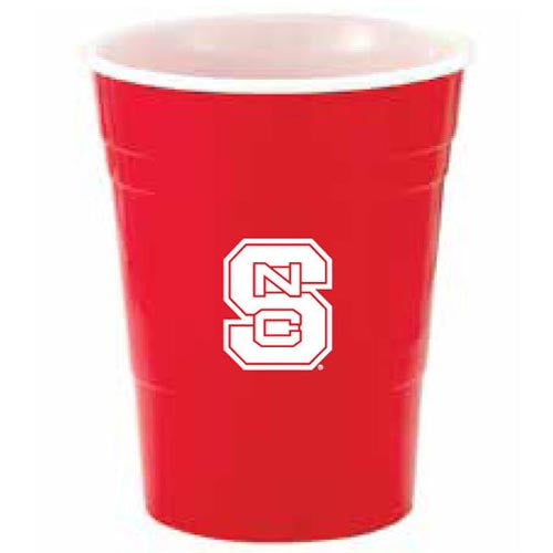 NC State Wolfpack Red 16oz Reusable Party Cup