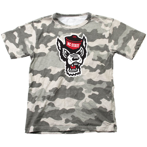 NC State Wolfpack Toddler Wolfhead Camo T-Shirt