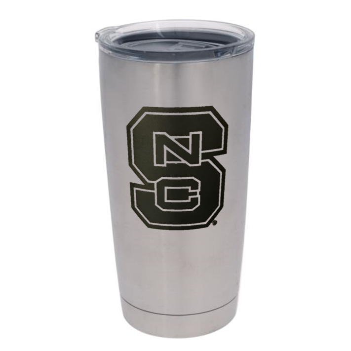 Nc State Wolfpack Yeti Block S 20oz Tumbler Red And