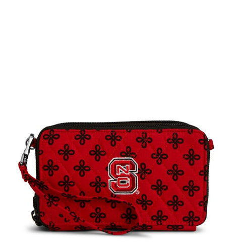NC State Wolfpack Vera Bradley Red and Black All In One Crossbody Bag