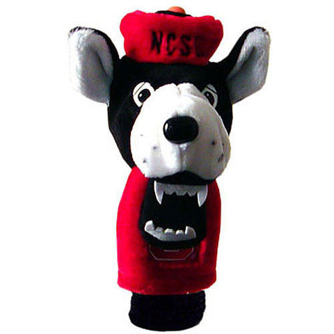 NC State Wolfpack Plush Wolf Mascot Golf Head Cover