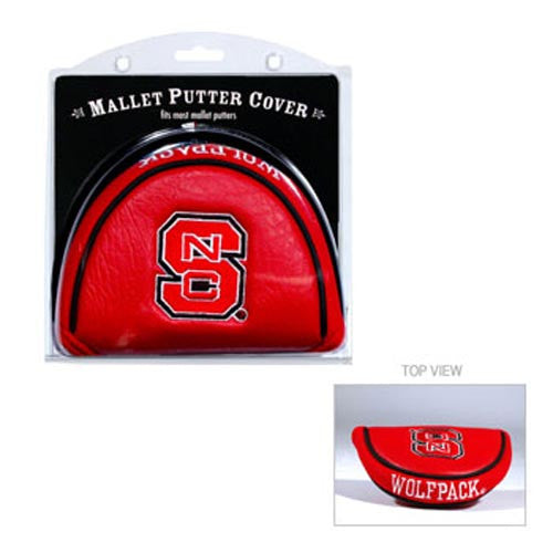 NC State Wolfpack Team Golf® Mallet Putter Cover