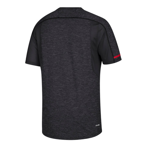 NC State Wolfpack Adidas 2018 Black Wolfhead Training T-Shirt