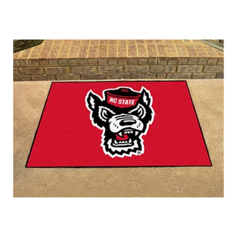 NC State Wolfpack Red Wolfhead Allstar Mat