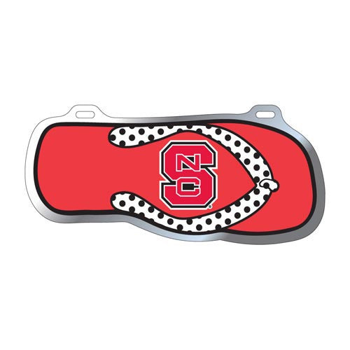 NC State Wolfpack Flip Flop License Plate
