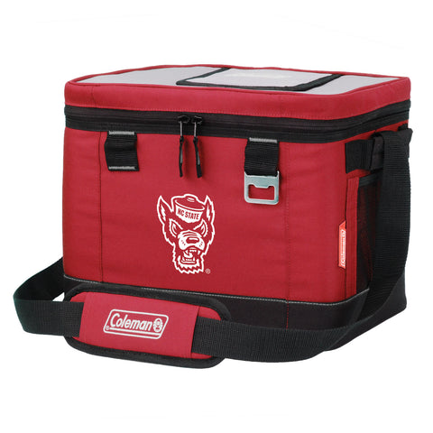 NC State Wolfpack Coleman Red Wolfhead 24 Can Klondike Cooler