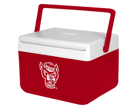 NC State Wolfpack Coleman Red Wolfhead Fliplid Cooler