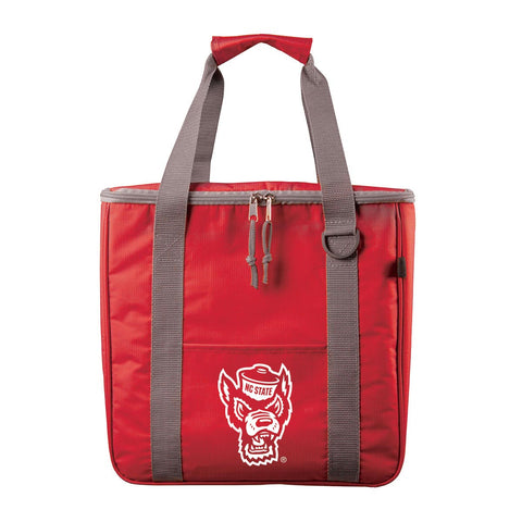 NC State Wolfpack Red Wolfhead Game On Cooler Tote