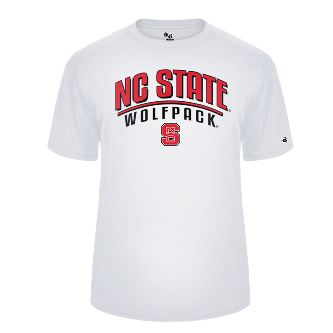 NC State Wolfpack White Ultimate Performance T-Shirt