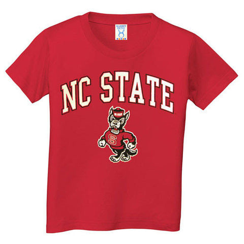 NC State Wolfpack Infant/Toddler Red Signature Strutting Wolf T-Shirt