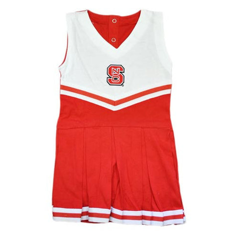 NC State Wolfpack Infant Cheerleader Creeper Outfit