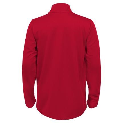 NC State Wolfpack Youth Red Wolfhead Unlock 1/4 Zip Performance Jacket