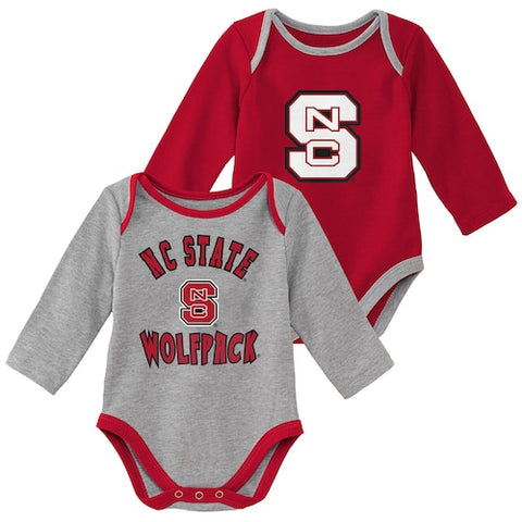 NC State Wolfpack Infant Trophy 2 Piece Onesie Set
