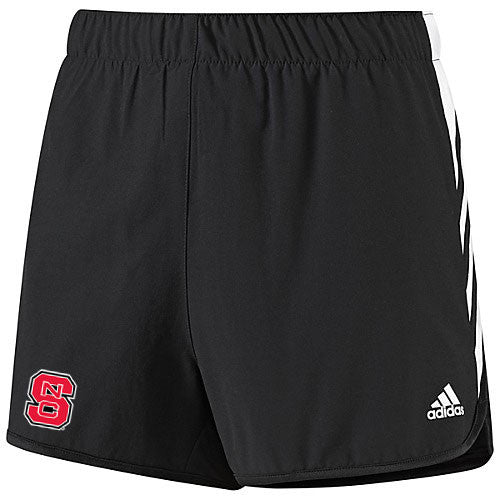 NC State Wolfpack Women's Adidas Black Ultimate Training Shorts