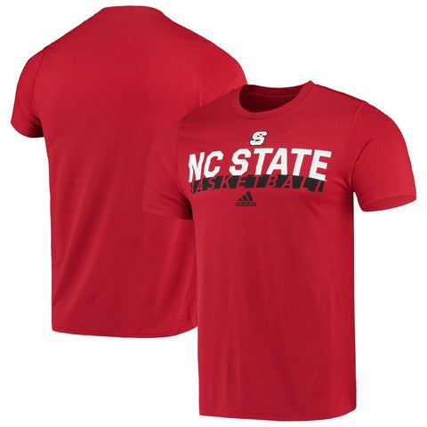 NC State Wolfpack Adidas Red Basketball Creator Climalite T-Shirt