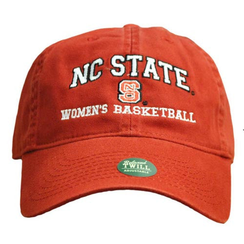NC State Wolfpack Women's Basketball Red Relaxed Fit Adjustable Hat