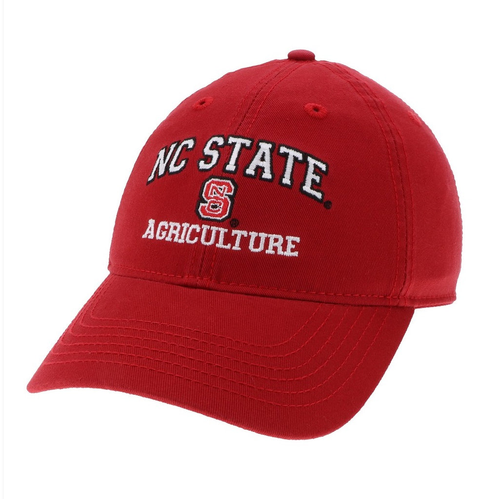 942ce09154c ... coupon code for nc state wolfpack agriculture red relaxed fit adjustable  hat 79269 b822f