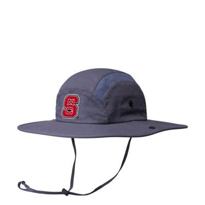 fbdacba0ac8 ... promo code for nc state wolfpack adidas grey football sideline bucket hat  red and white shop